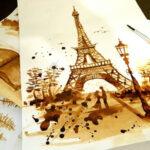 Coffee Painting 2